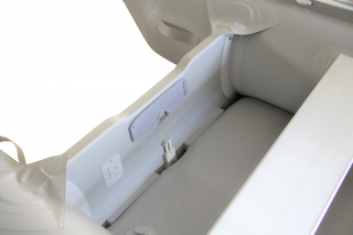 All New 14' Saturn Long Tender (Triton Version) With Dropstitch Floor - Transom with Drain Plug