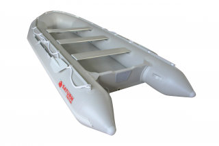 All New 14' Saturn Long Tender (Triton Version) With Dropstitch Floor - Rear View