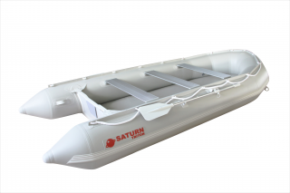 All New 14' Saturn Long Tender (Triton Version) With Dropstitch Floor - Side View