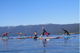 Saturn Superior SUPs - Water Yoga