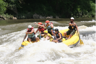 Customer Photo - 14' Saturn Whitewater Raft - Class IV+ Whitewater and Loving It!