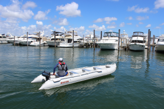 18' Saturn KaBoat - Light Grey SK548XL - Optional Outboard Motor Added After Purchase