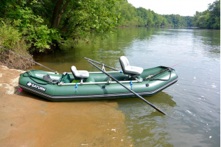 New 12' Saturn Raft/Kayak - RD365X with Custom NRS Frame - Leafield C7 Valves Shown - Photo Provided By Ian Sasso