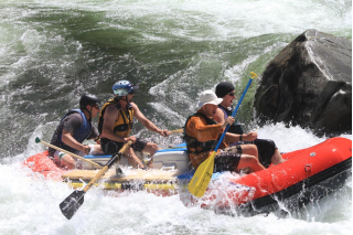 Customer Review Photo - 15' Saturn Whitewater Raft on Big Whitewater