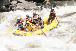 Customer Photo - 14' Saturn Whitewater Raft (Yellow)