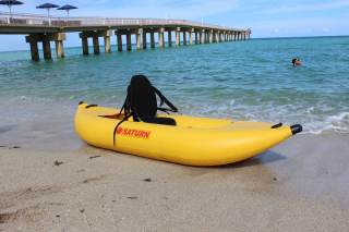 "8'6"" Saturn Inflatable River Kayak (Ducky)"