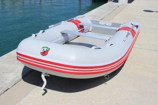 "9'6"" Azzurro Mare AM290 w/out Tube Protector Installed - Front View"
