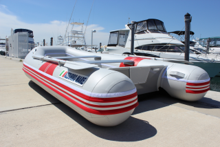 "9'6"" Azzurro Mare AM290 w/out Tube Protector Installed - Premium Inflatable Boat"