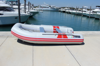 """9'6"""" Azzurro Mare AM290 w/out Tube Protector Installed - Side View"""