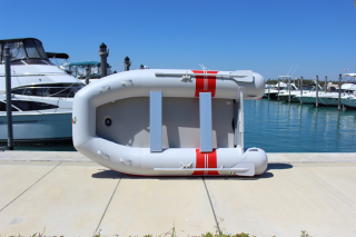"""9'6"""" Azzurro Mare AM290 w/out Tube Protector Installed - On Edge"""