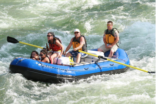 Customer Photo - 16' Saturn Whitewater Raft - NRS Bighorn II Frame Package from Saturn Rafts