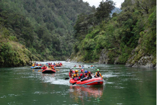 2010 Version 13' Saturn Whitewater Rafts (RD390) in New Zealand