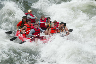 Customer Photo - 16' Saturn Whitewater Raft in Big Whitewater