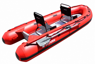 New 2020 12.5' Saturn Performance KaBoat - Red - Additional Seats Added (Not Included)