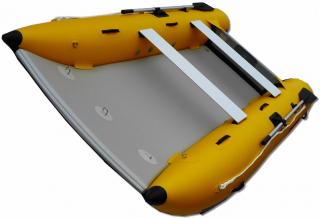 11' Saturn Inflatable Catamaran MC330 - Front View