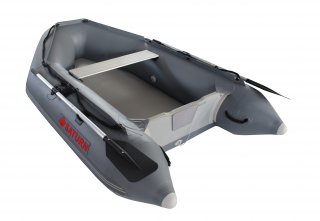 "2020 7'6"" Saturn Dinghy (SD230 ) - Dark Grey - Side View"