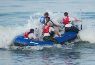 14' Saturn Whitewater Raft Training SEALS