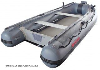12' Saturn Fishing Boat FB365 Dark Grey - Shown With Optional Air Floor (when available)
