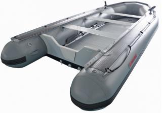 15' Saturn Heavy Duty Fishing Boat - Rear View