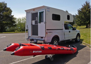Customer Photo - 14' Saturn KaBoat SK430 - Perfect for Your Camper