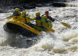 Customer Photo - 14' Saturn Whitewater Raft