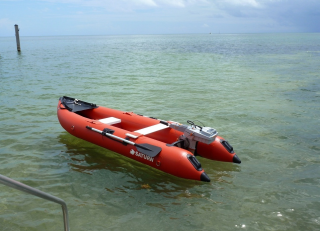 Customer Photo - Older Version 12' Saturn KaBoat SK396 - Red