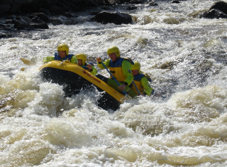 Customer Photo - 14' Saturn Whitewater Raft - Class IV+ Whitewater in New Zealand