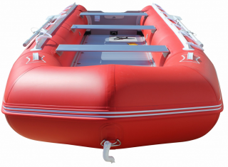 15' Saturn Inflatable SD460 Budget Boat - Red Front View