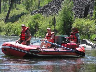 2010 Version 14' Saturn Whitewater Raft