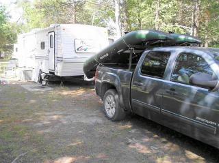 Customer Photo - 13' Saturn Fishing Kayak FK396 - Perfect for the Camper