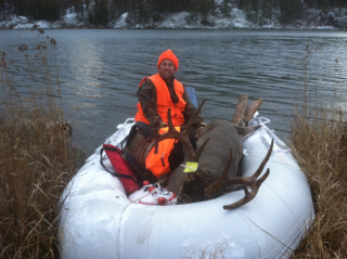 Customer Photos - 12' Saturn SD365 Inflatable Boat After Successful Hunt