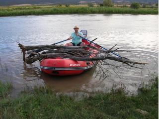 Customer Photo - 14' Saturn Whitewater Raft - THE Necessities