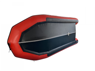 New 2020 18' Saturn Triton Dinghy - Red Boat with Black PVC Protection