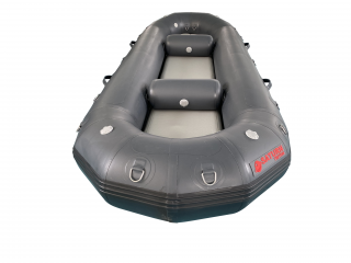 "2020 12'6"" Saturn Triton Flyfishing Raft - Front View"