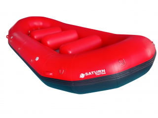 "14'8"" Saturn Triton Whitewater Raft - Angled View"