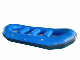 "2020 13'6"" Saturn Triton Whitewater Raft - Side View"