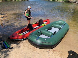"The all new 2020 12'6"" Saturn Whitewater Soloquest Raft"
