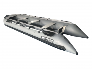 2021 15' Saturn Outfitter (Triton) Series KaBoat - Dark Grey
