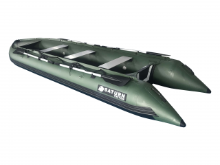 2021 15' Saturn Outfitter (Triton) Series KaBoat - Green