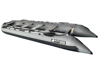 16' Saturn Triton Outfitter Series KaBoat - Dark Grey