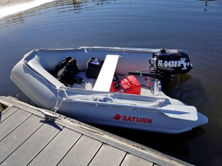 "Customer Review Photo - Saturn 8'6"" SD260"