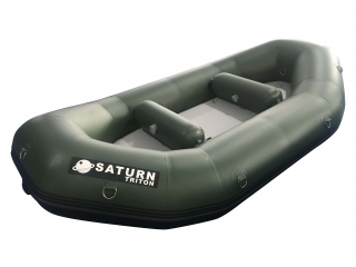 "Triton Series 9'6"" Saturn Whitewater Raft - Green"