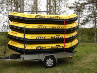 Customer Photo - 14' Saturn Whitewater Raft - One of our Commercial Guides