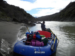 Customer Review Photo - 15' Saturn Whitewater Raft on Multi-Day Camping Trip