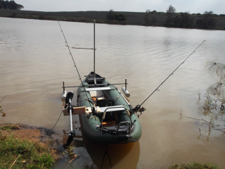 Customer Photo - 13' Saturn Fishing Kayak FK396 - Custom Fishing Machine