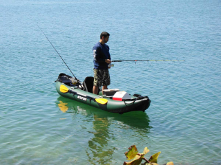 Customer Photo - 13' Saturn Fishing Kayak FK396