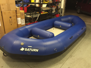 15' Saturn Whitewater Raft - 2016 Version Without Outfitter Floor Upgrade