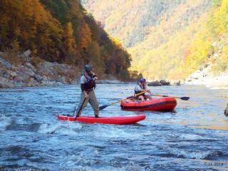 "Customer Photo - 9'6"" Saturn Whitewater Raft - R1 Customized Rowing Frame"