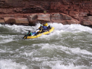 Customer Review Photo - 15' Saturn Whitewater Raft on Multi-Day Camping Trip on Colorado River