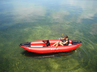 Customer Photo - 13' Saturn Inflatable Expedition Kayak RK396